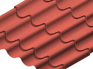 Techo Steel Tile Profile